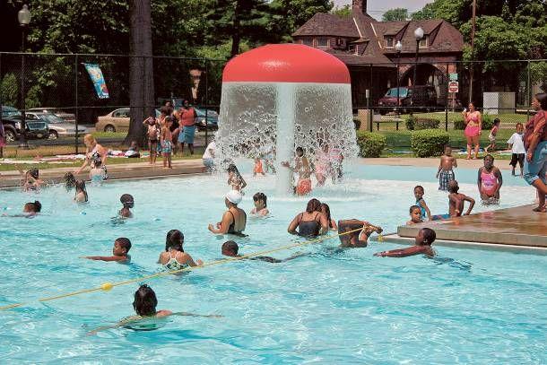 Mackay Park Pool In Englewood Outdoor Bergen County Bergen