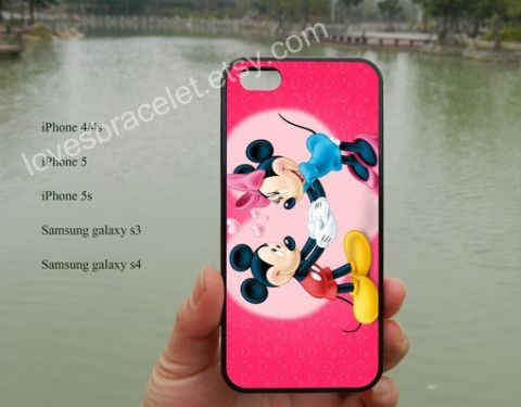 Mickey Mouse Love,iPhone 5 case,Disney iPhone case,iPhone 5C case,iPhone 5S case,Samsung Galaxy S3 S4,iPhone 4 Case,iPhone 4S case