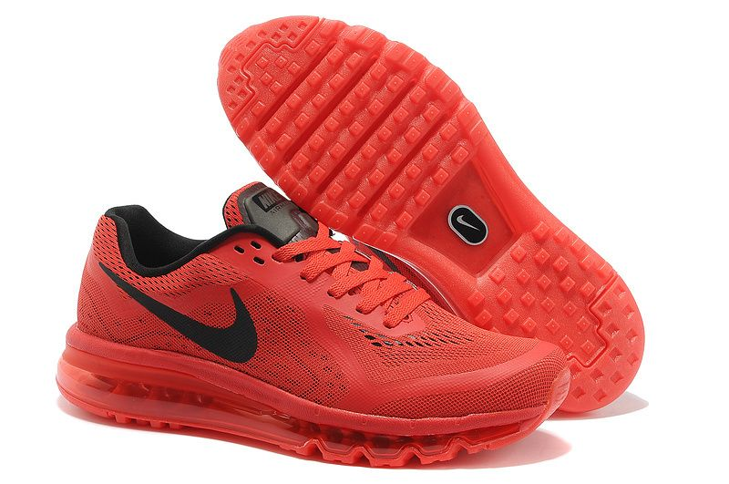 nike air max 2014 red womens sneakers