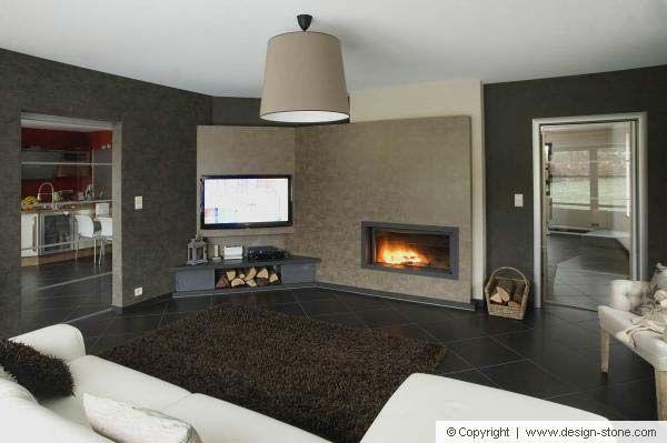 chemin e en pierre bleue finition claire et fonc e chemin es pinterest pierre bleue. Black Bedroom Furniture Sets. Home Design Ideas