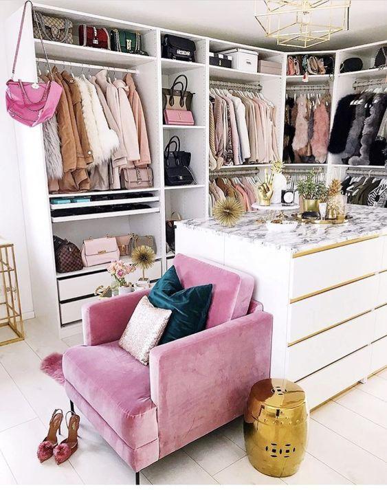 Inspiração Closets - 12 Ambientes Com Closet Pra Inspirar