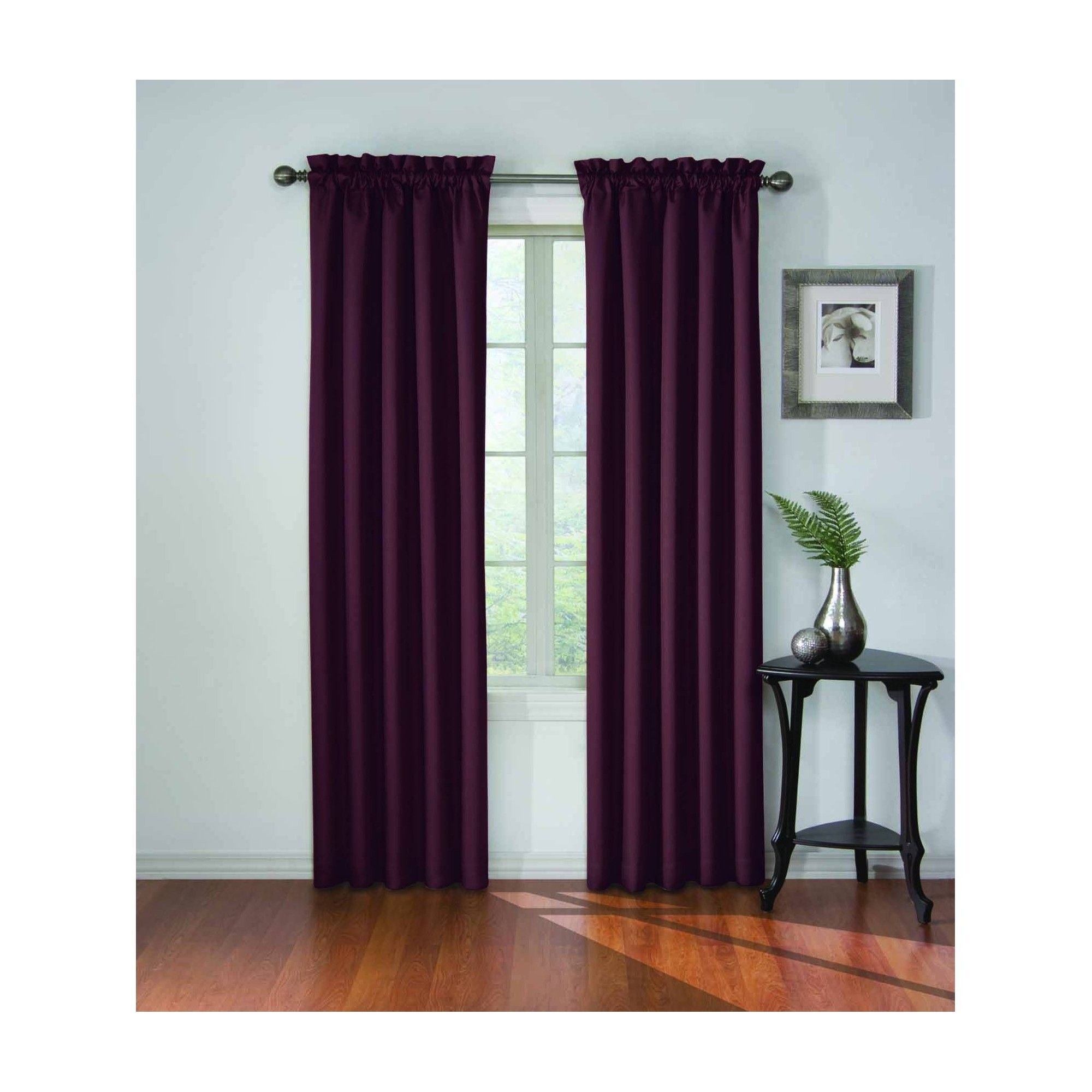Corinne Blackout Curtain Purple 42 X