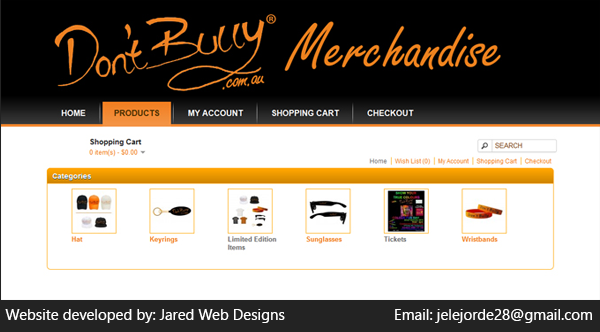 don t bully merchandise if you need a website like this please