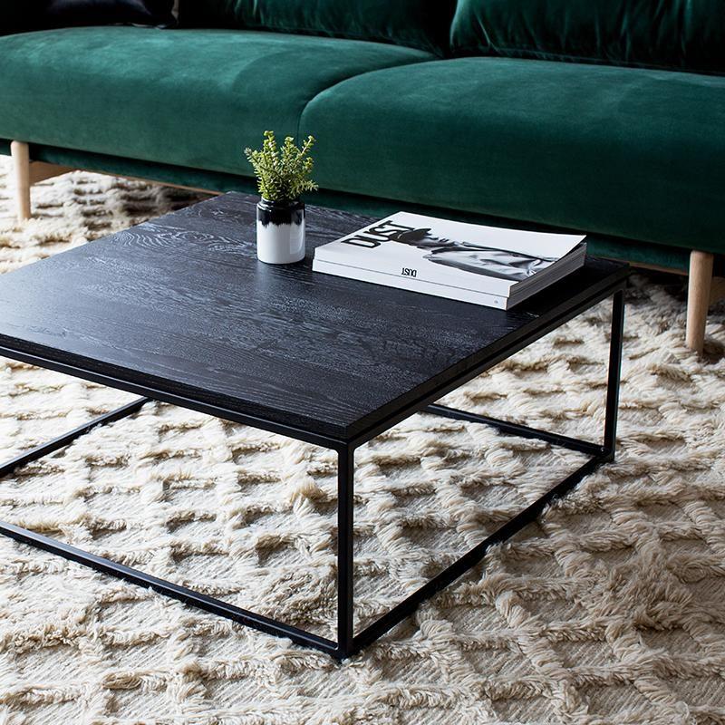 Ethnicraft Oak Thin Coffee Table Black Coffee Table Leather Ottoman Coffee Table Coffee Table White