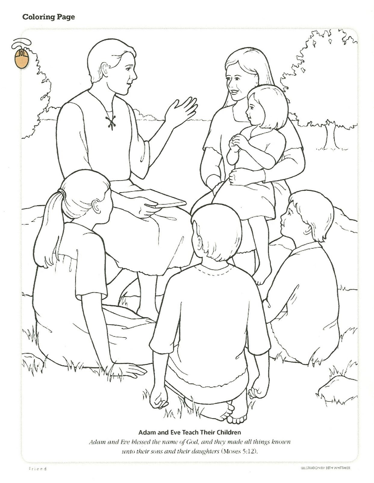 Old Fashioned Coloring Pages For Primary Lessons Inspiration ...