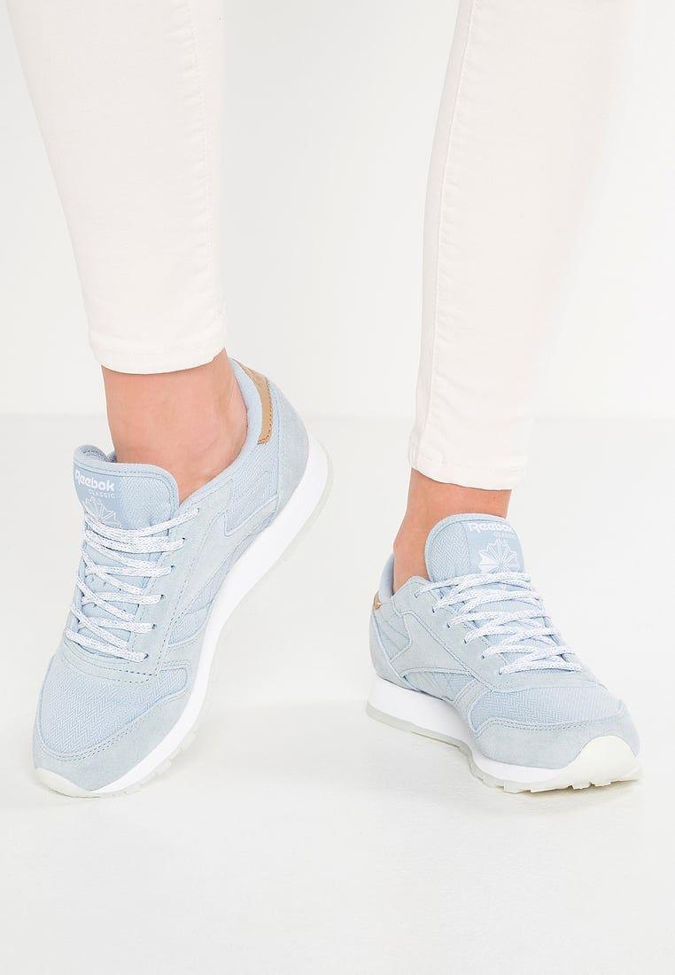 super popular 5448b 5e6ee Sneakers women - Reebok Classic Leather Sea Worn blue
