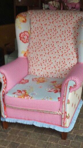 Stoel gestoffeerd  pip  stoel