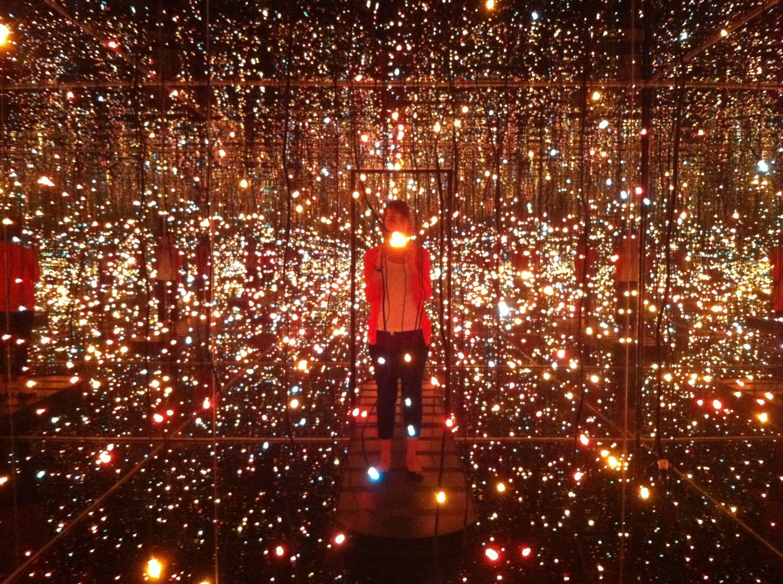 Fireflies Water - Yayoi Kusama Whitney Museum Of