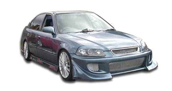 1996-1998 Honda Civic 2DR Duraflex Blits Body Kit - 4 Piece