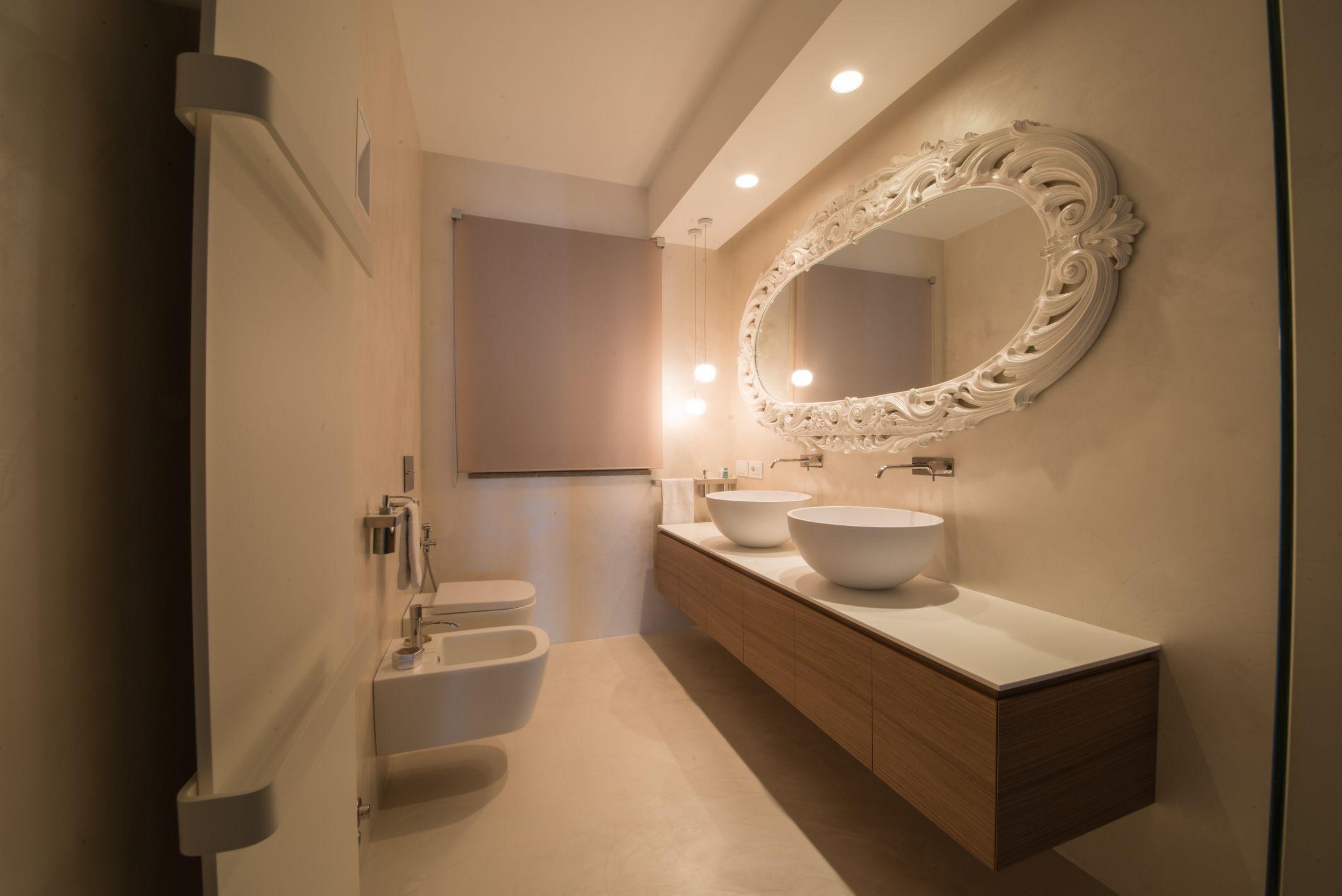 Bagni doppio arredamento mobili bagno sanitari marmo