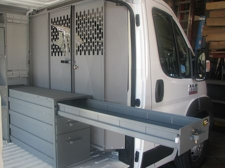 RAM ProMaster Partition and Long Drawer Bundle | Cargo Van