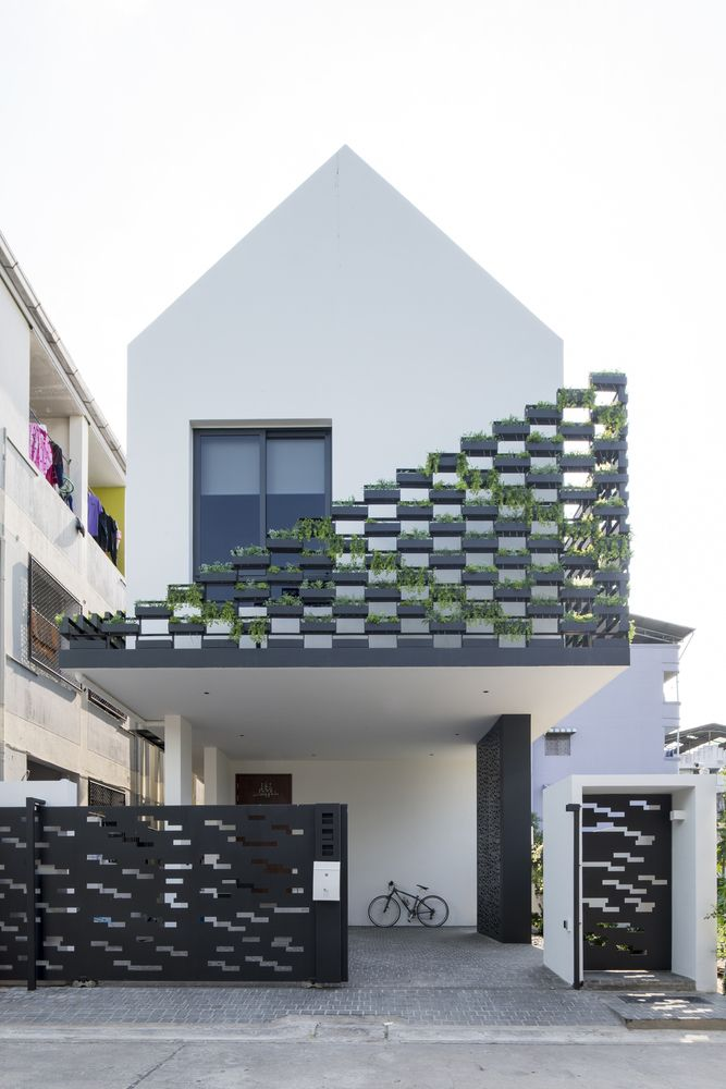 Gallery of  house gooseberry design facade housedezeen architectureinterior also best images chairs home decor living room rh pinterest