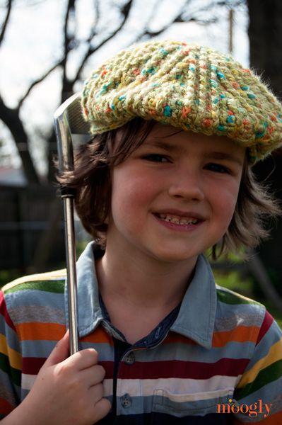 Big Boys Cabled Golf Cap | MISC. CROCHET | Pinterest | Häkeln baby ...