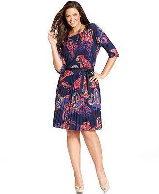 Macys Plus Size Dress Solidique27