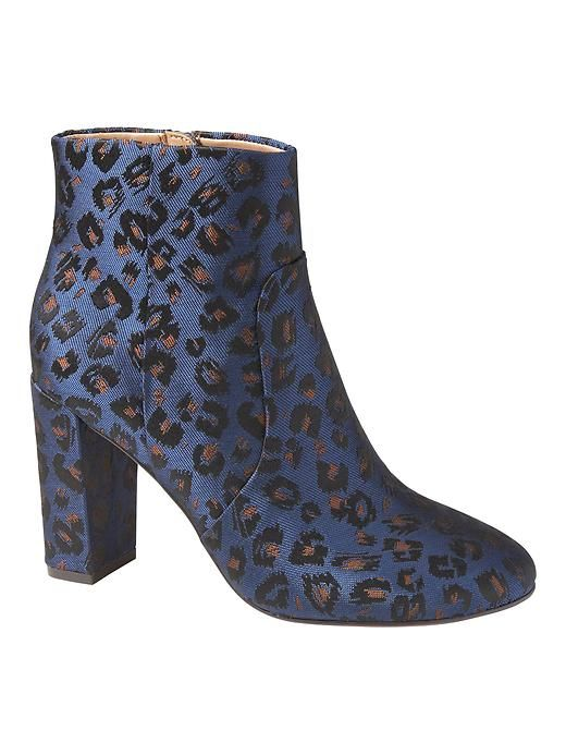 29792a3c927 Banana Republic Block Heel Jacquard Bootie | Products | Boots, Best ...