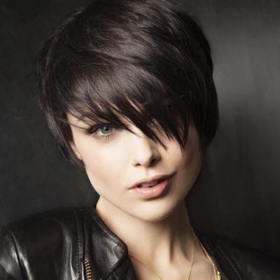 Short Hairstyles For Round Faces 20142015 Short Haircuts For Round  Hair  Pinterest  2015 Short