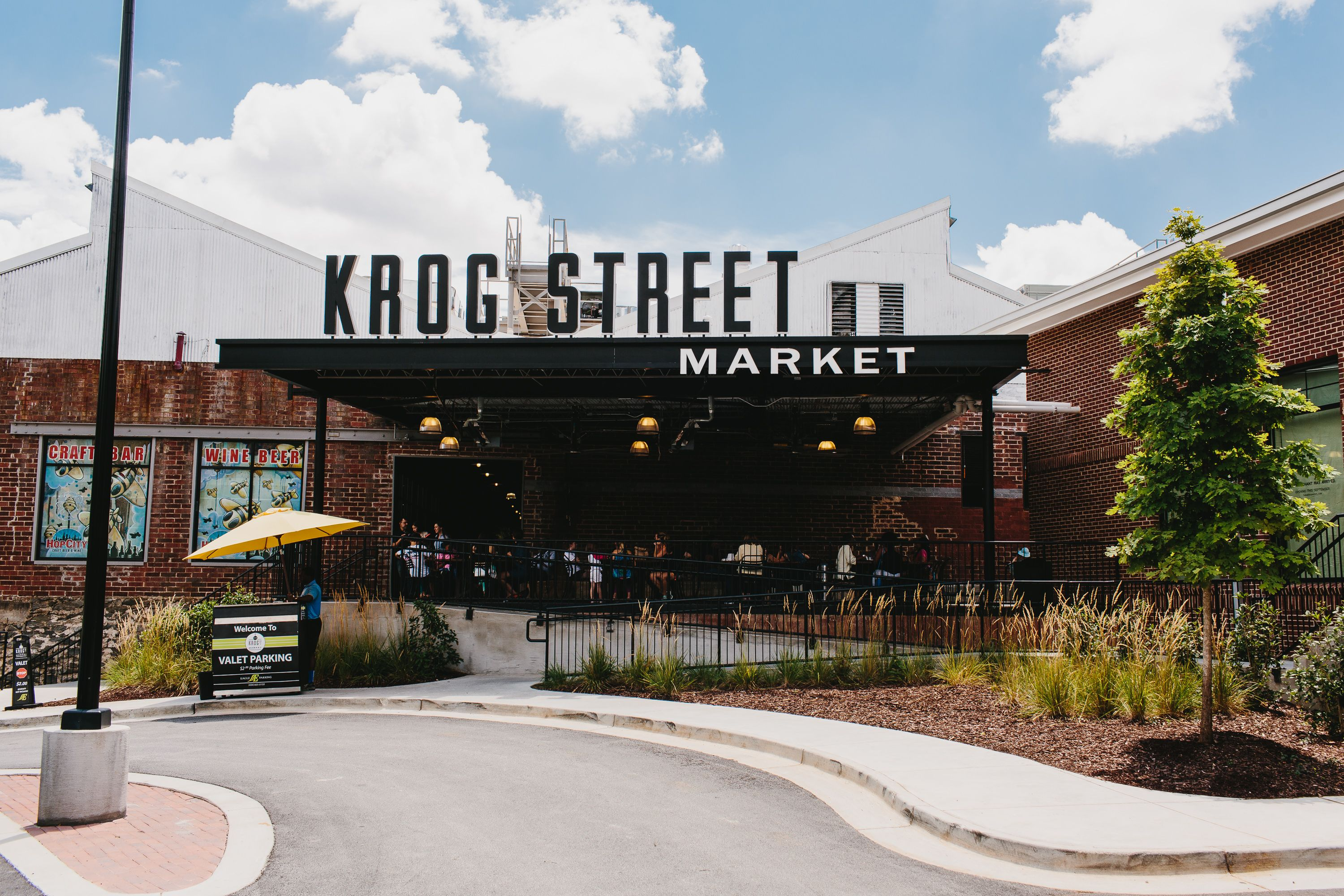Krog Street Market Hasnt Been Opened For That Long But Its Definitely Not Going Anywhere