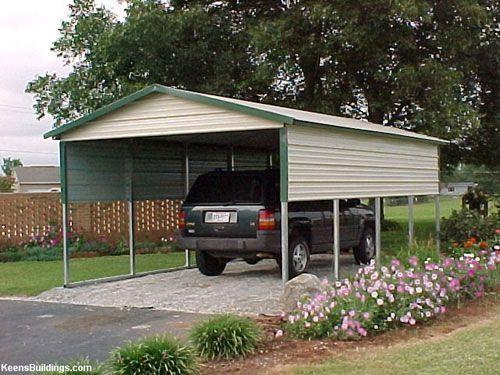 12x 21 Boxed Eave Carport Portable Buildings Metal Carports Carport Steel Carports