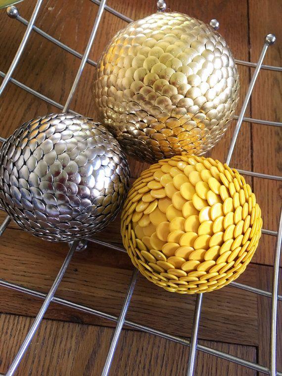Gold Vase Filler Balls Silver Vase Filler By Poshdazzlecreations