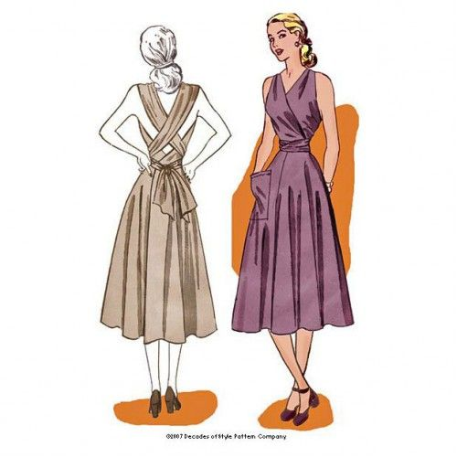 Schnittmuster: 4003 - 1948 Siren Sundress | sewing patterns to buy ...