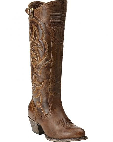 Ariat Wanderlust Tall Cowgirl Riding Boots | CowGrils!!!! | Pinterest
