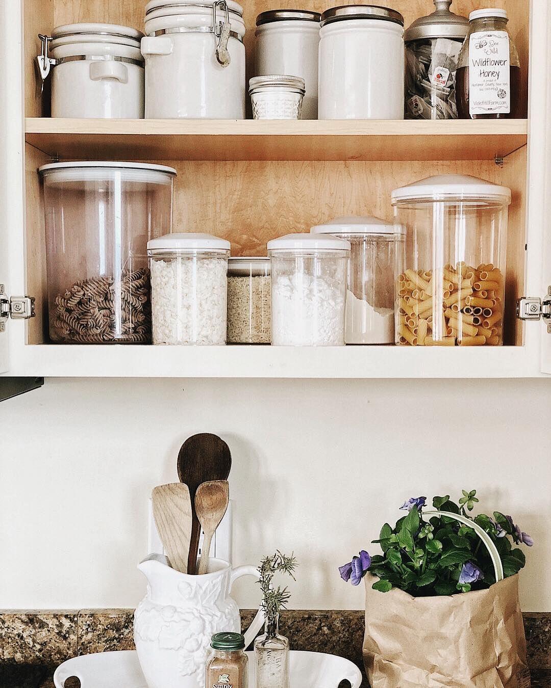 Zero Waste Pantry Goals Bulk Kitchen Cabinets Design W
