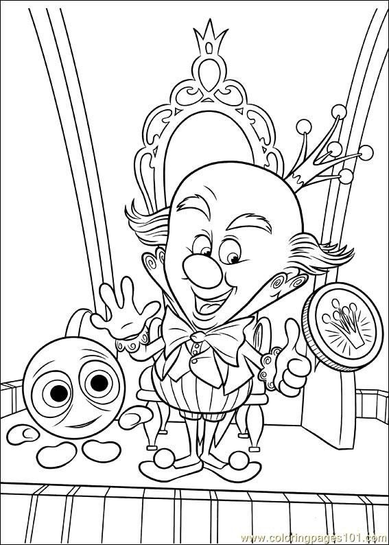 Wreck It Ralph Coloring Pages Printable Coloring Page Wreck