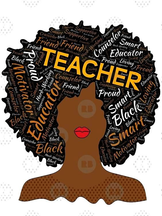 quotArtistic Teacher Afro for African...