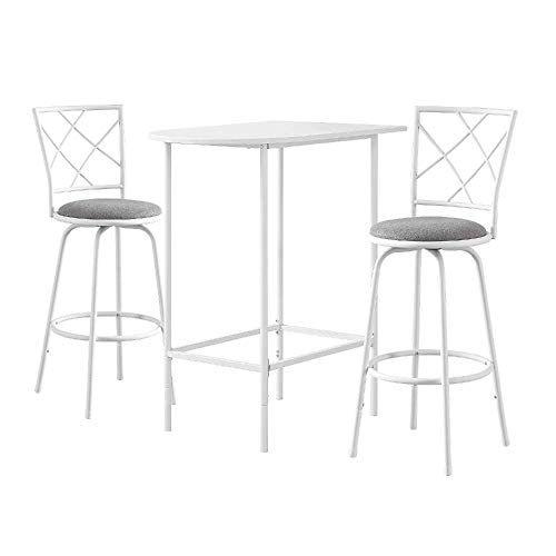Strange Svitlife White Top Metal 24 Inch X 36 Inch Space Saver Bar Inzonedesignstudio Interior Chair Design Inzonedesignstudiocom