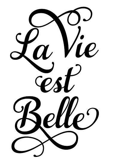 La vie est belle, life is beautiful by beakraus