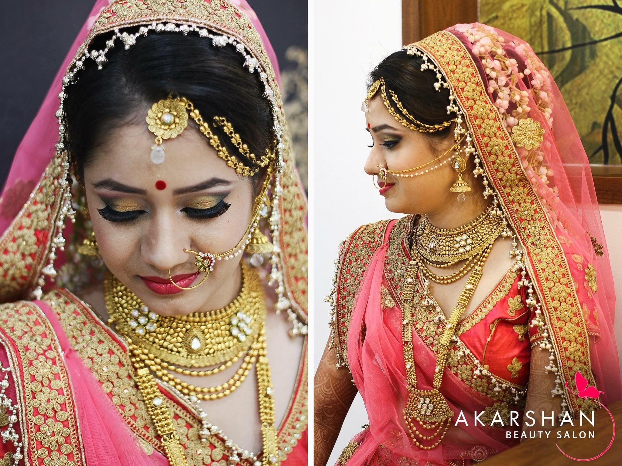 Bridal Makeup By Akarshan Beauty Salon Gwalior Bridal Makeup Akarshan Aakarshan Beautyparlor Beautyparlour Gwalior Bridal Makeup Beauty Salon Beauty