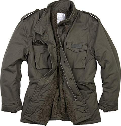 New Surplus Men's Paratrooper Winter Jacket Olive Washed online shopping – Onlineshoppingoffers