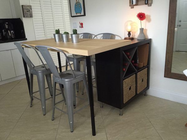 12 best ikea hacks and ideas for every room in your home david jobs k che m bel haus k chen - Ikea studentenzimmer ...