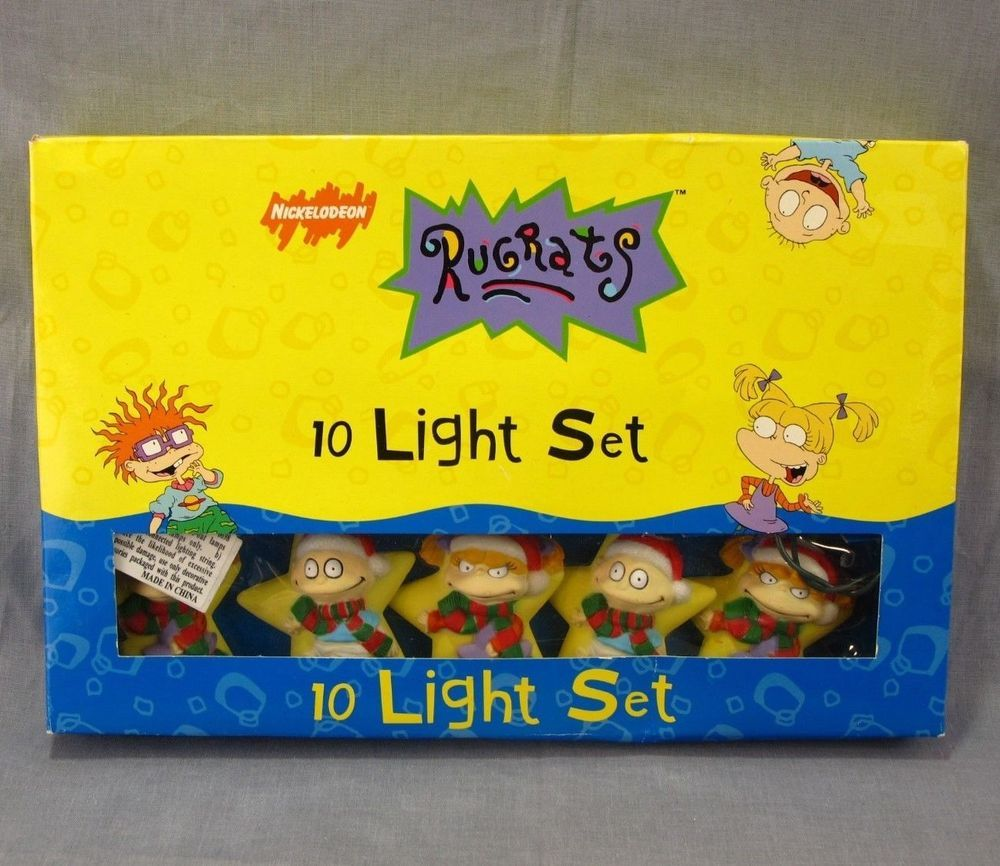 Rugrats Christmas.Rugrats Christmas Lights Nickelodeon 10 Light Set Holiday