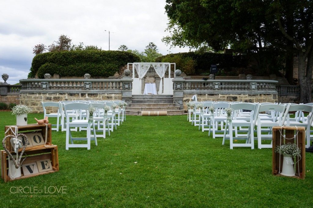 Cottesloe Civic Centre Perth Wedding Styling Hitch Pinterest