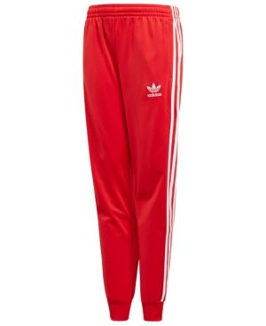 512ade0a adidas Tricot Jogger Pants, Big Boys - Red XL | Products in 2019 ...