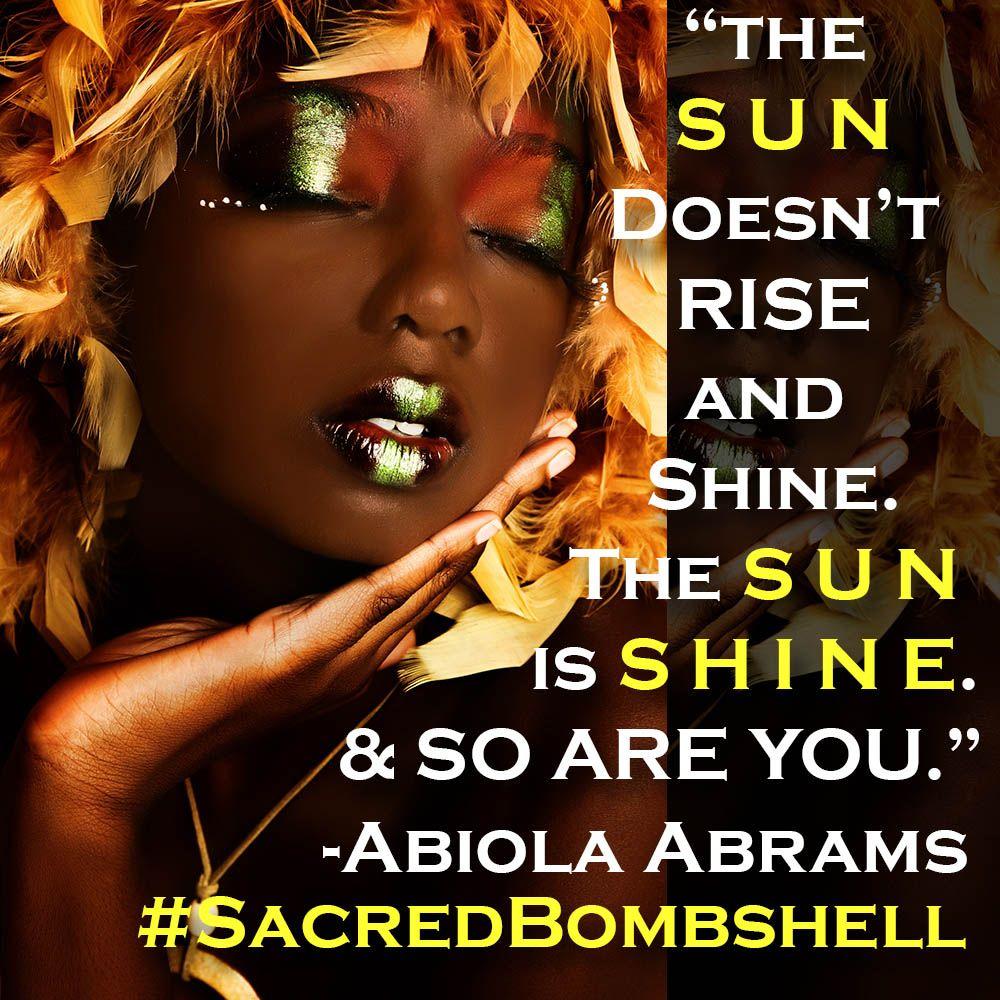 African Goddess Affirmation Card: Oshun, Yoruba Goddess