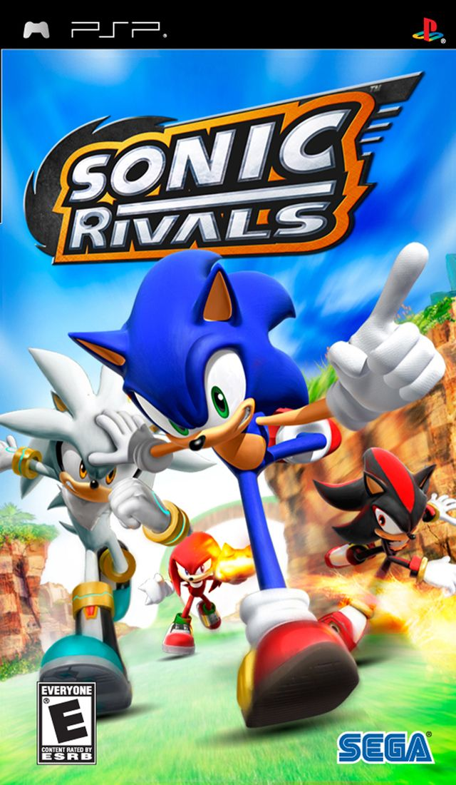 Sonic Rivals Psp Game Game Sonic Sonic The Hedgehog Psp