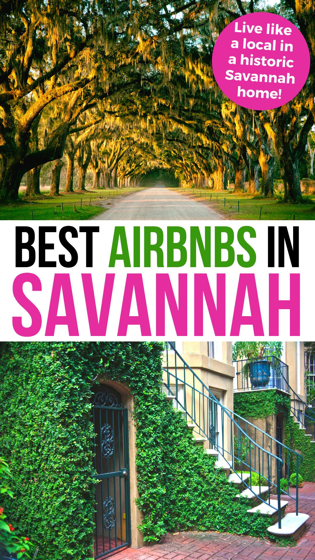 Airbnb Savannah Georgia Historic Stays Neighborhood Tips Savannah Chat Savannah Georgia Travel Savannah