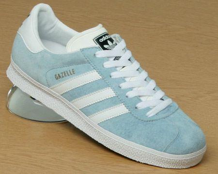 adidas light blue gazelle