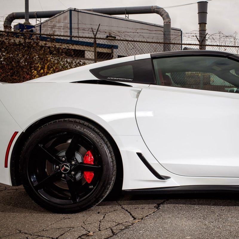 C7 Corvette Stingray ACS Lower Rocker Z06 Brake Intake Scoops | C7