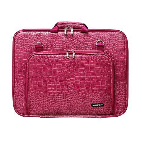 Casecrown Double Memory Foam Case Alligator Hot Pink For Hp 17 3 Inch Laptop Pink Laptop Best Laptop Cases 17 Inch Laptop