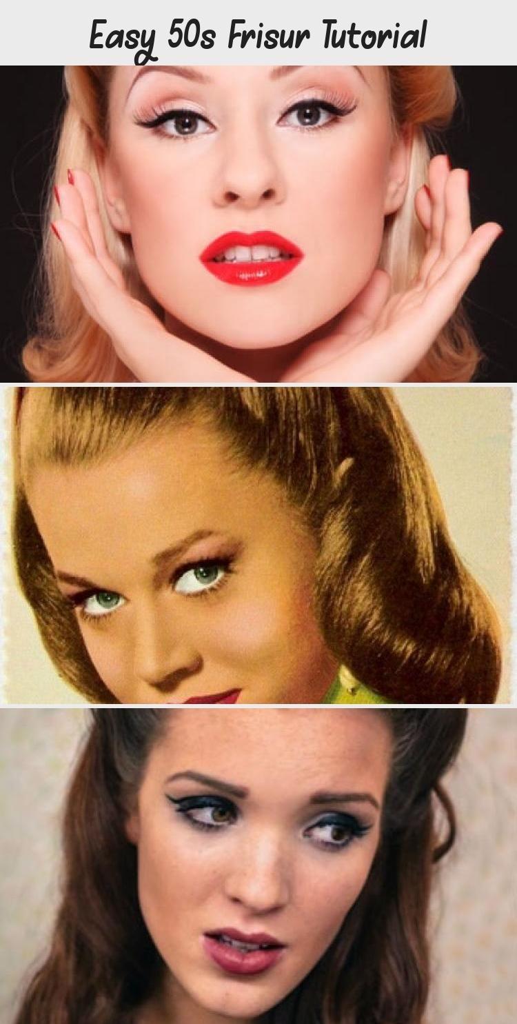 Easy 50s Frisur Tutorial | Hair styles, Vintage hairstyles, Hairstyle app