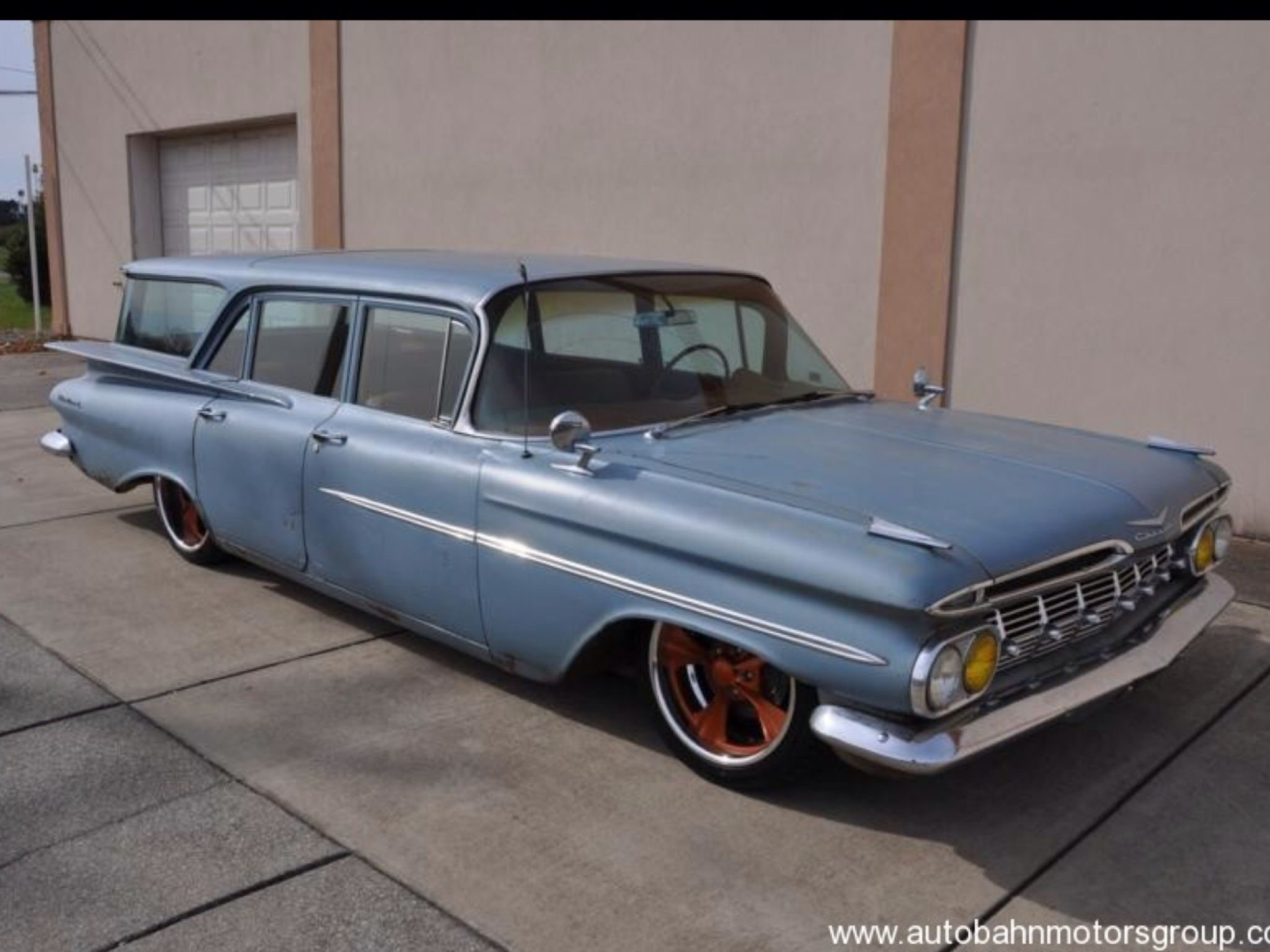 Ratrod chevy 59 impala station wagon