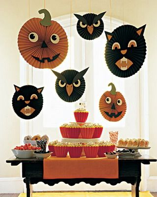 Fantasmas, fantasmitas y calabazas Pinterest Halloween ideas - halloween club decorations