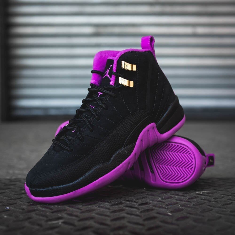 size 40 4cbb8 761d0 NIKE AIR JORDAN RETRO 12 XII HYPER VIOLET KINGS PURPLE BLACK 510815 018  US 189.00