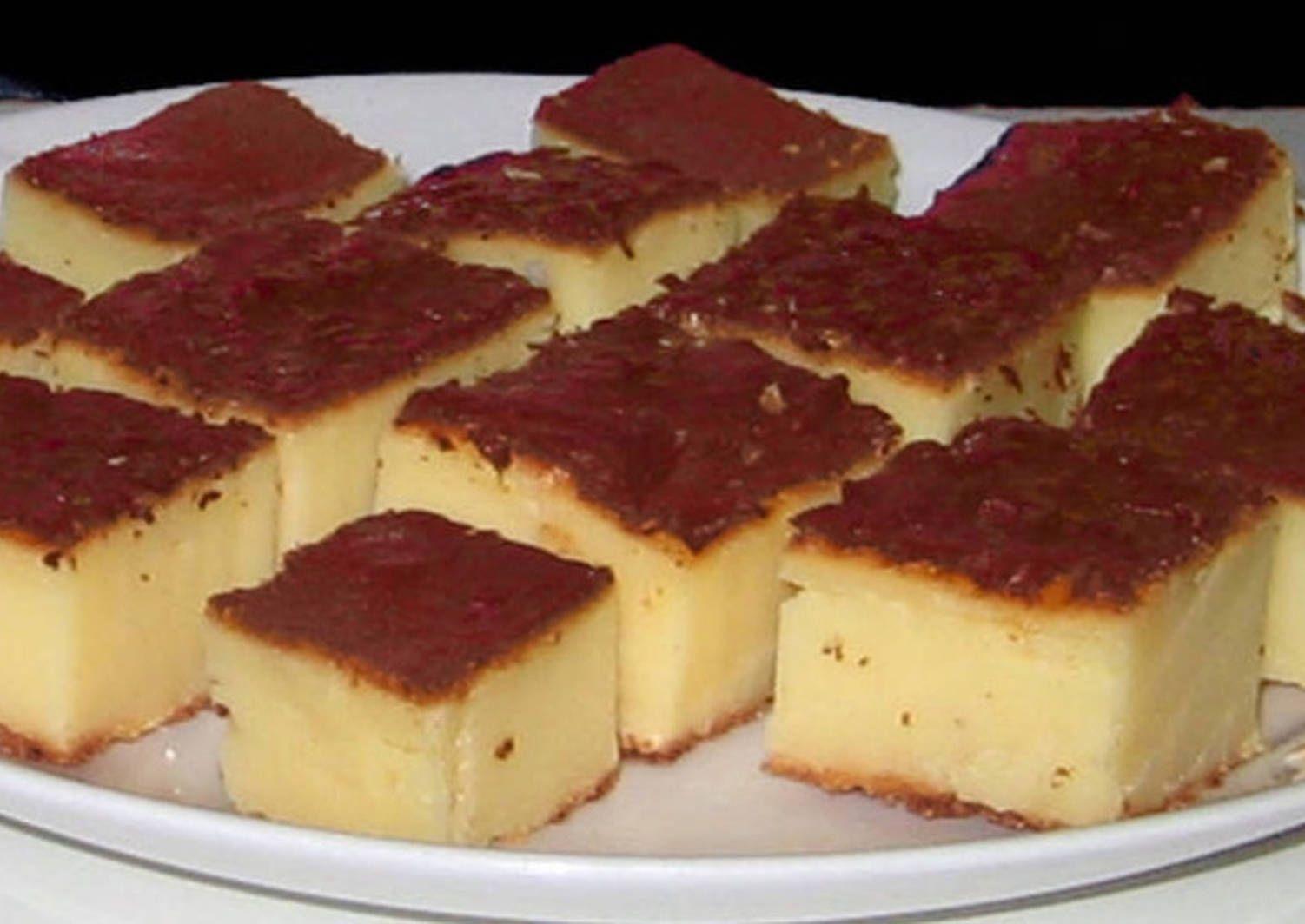 Pastelitos de yogur griego y queso mascarpone