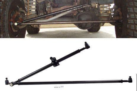 Heavy Duty Crossover Steering Conversion For Jeep Tj Xj Zj