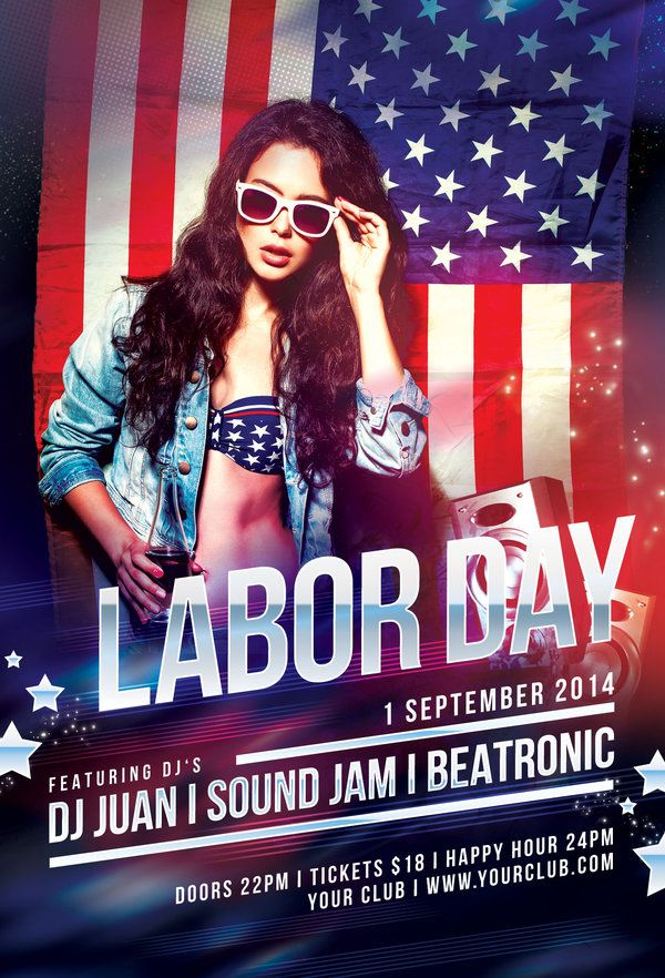 labor day flyer by stylewish download psd file flyer pinterest