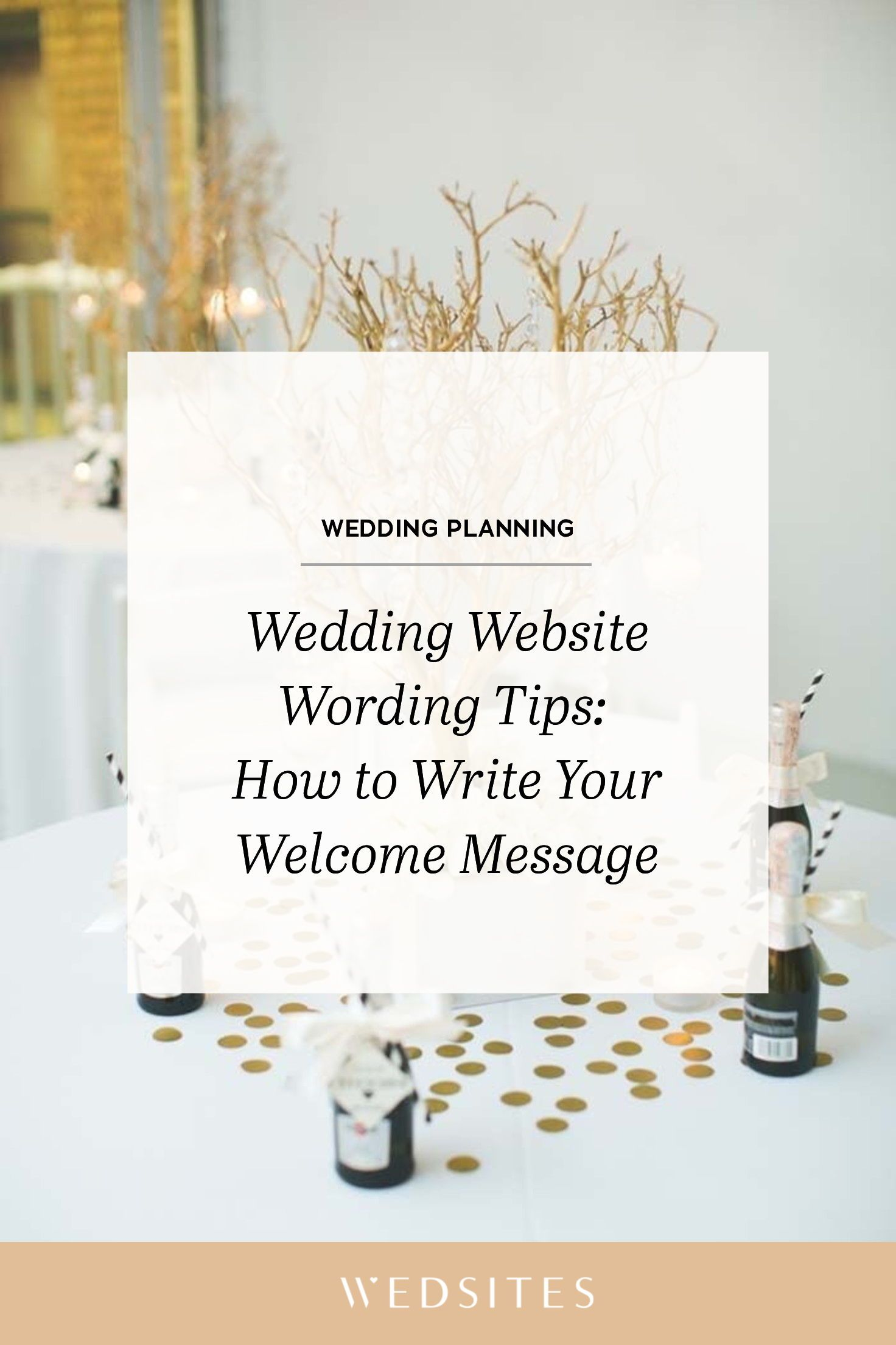 Wedding Website Wording Tips How to Write Your
